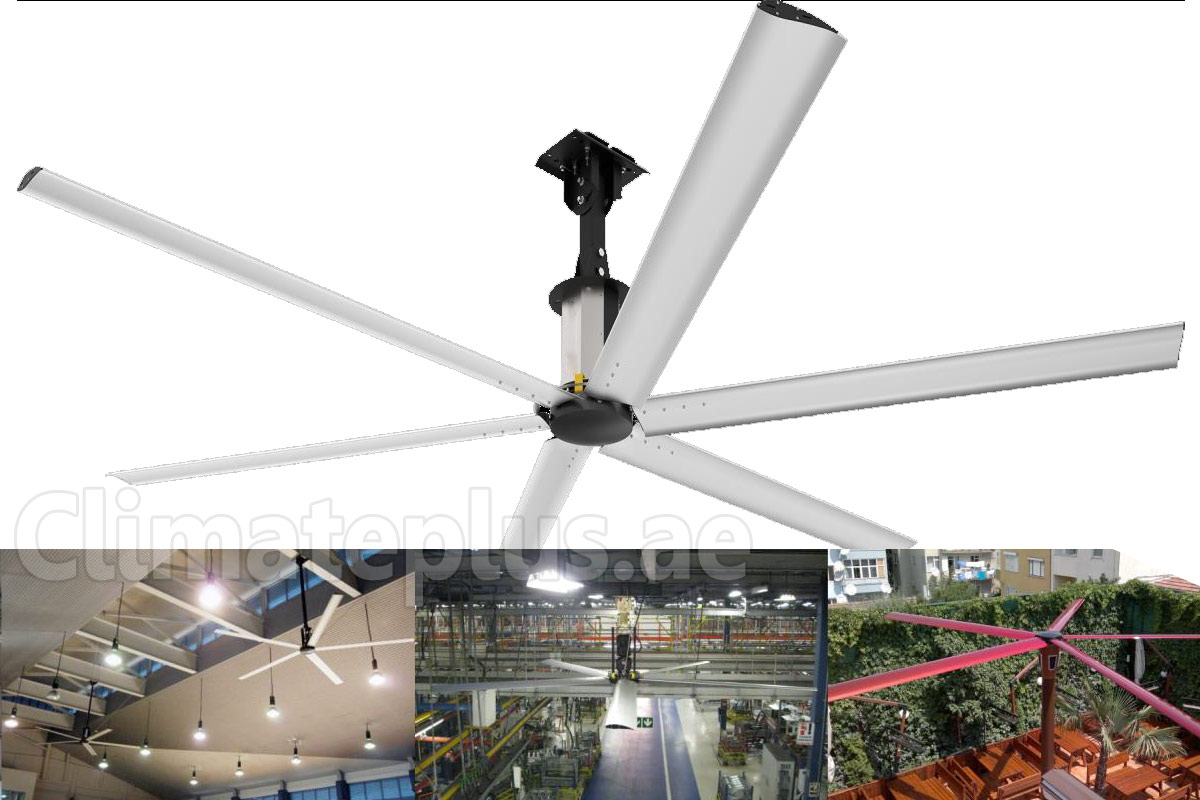 Hvls High Volume Low Speed Fans 5yr Warranty Climate