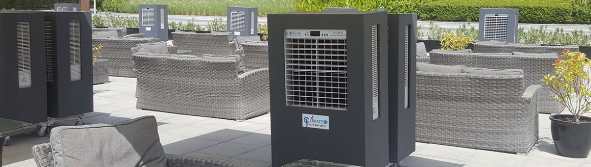Event outdoor cooling rentals